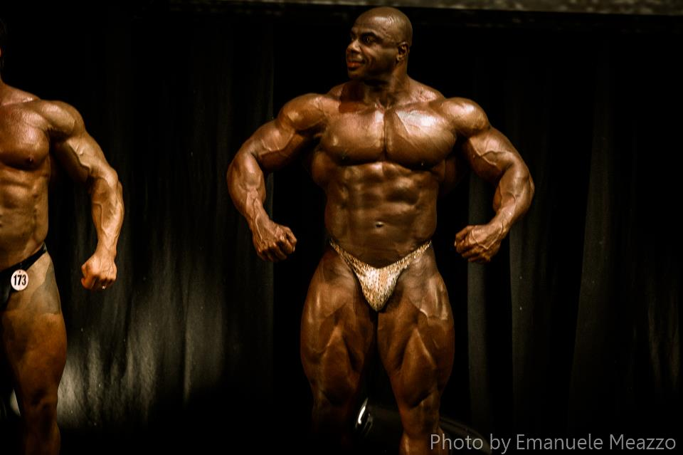 Flex Lewis & Toney Freeman - guest posing in Italy