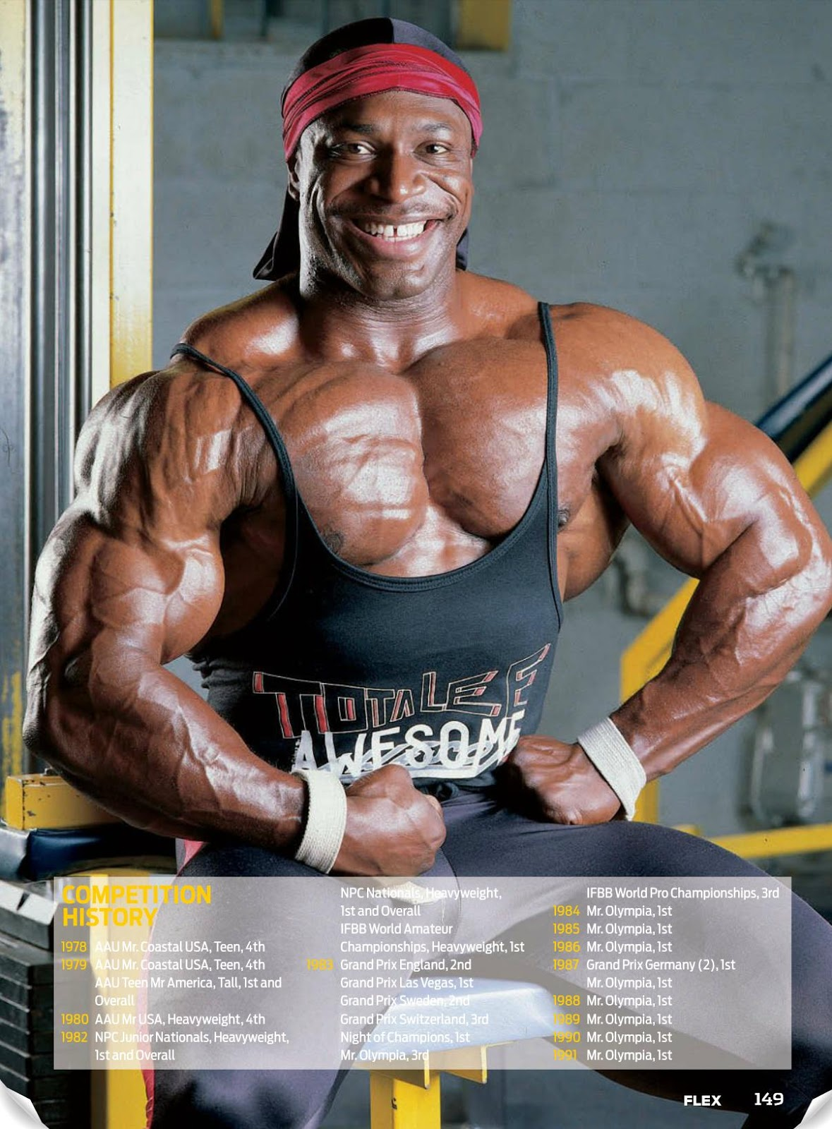 Lee Haney Looking Back - Article & HQ PICS!!!