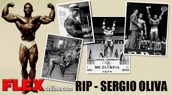 RIP Sergio Oliva (1941 - 2012)