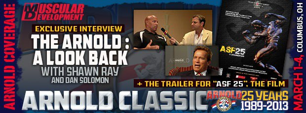The Arnold: A Look Back plus ASF25 Movie Trailer!!