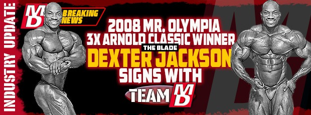 Dexter Jackson re-signs with MD!