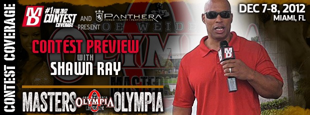 MASTERS OLYMPIA PREVIEW 1