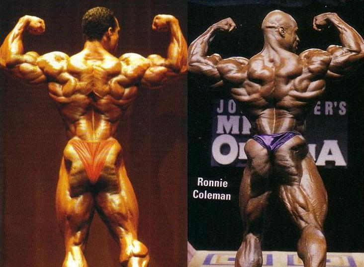 1993 Arnold Classic Flex Wheeler VS. 1998 Mr. Olympia Ronnie Coleman