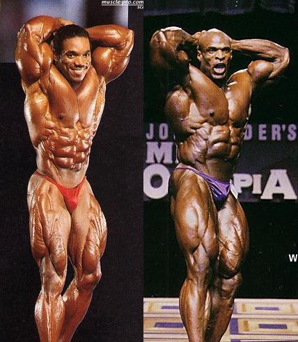 1993 Arnold Classic Flex Wheeler VS. 1998 Mr. Olympia Ronnie Coleman