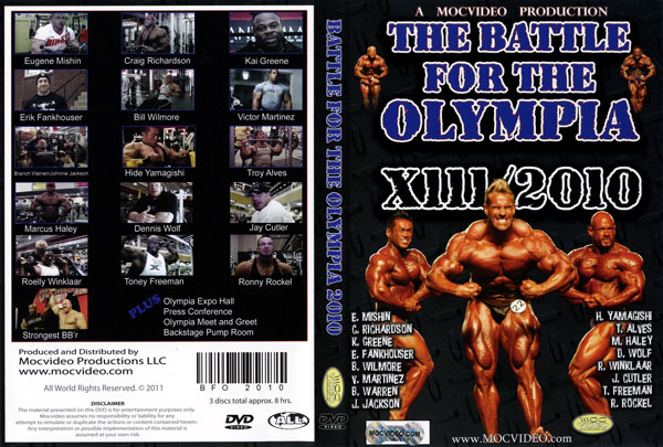 Battle for the Olympia 2010 - FULL DVD on youtube!