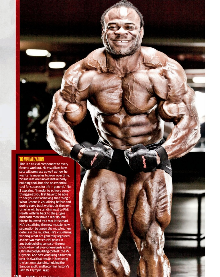 Kai Greene scans - February 2013, Flex mag.