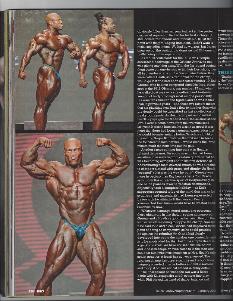 phil heath: anatomy of victory 2013 article scans