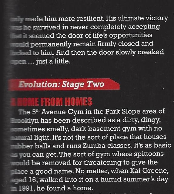 the evolution of kai greene new 2013 article scans