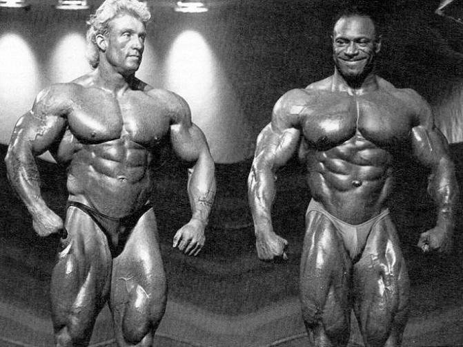Lee Haney vs Dorian Yates