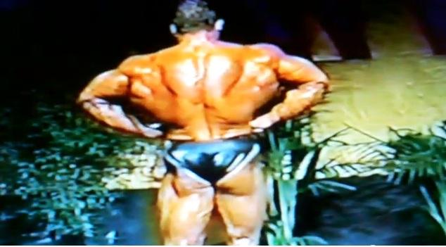 Dorian Yates - 1995 guest posing in San Francisco!