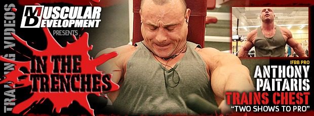 ANTHONY PAITARIS IN TRENCHES CHEST 1