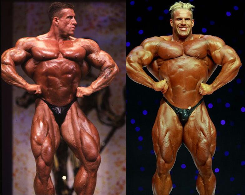 Dorian Yates 1996  vs Jay Cutler 2009