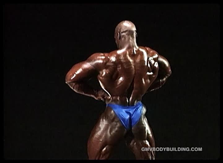 RONNIE COLEMAN - 1997 British Grand Prix PREJUDGING PICS!!!
