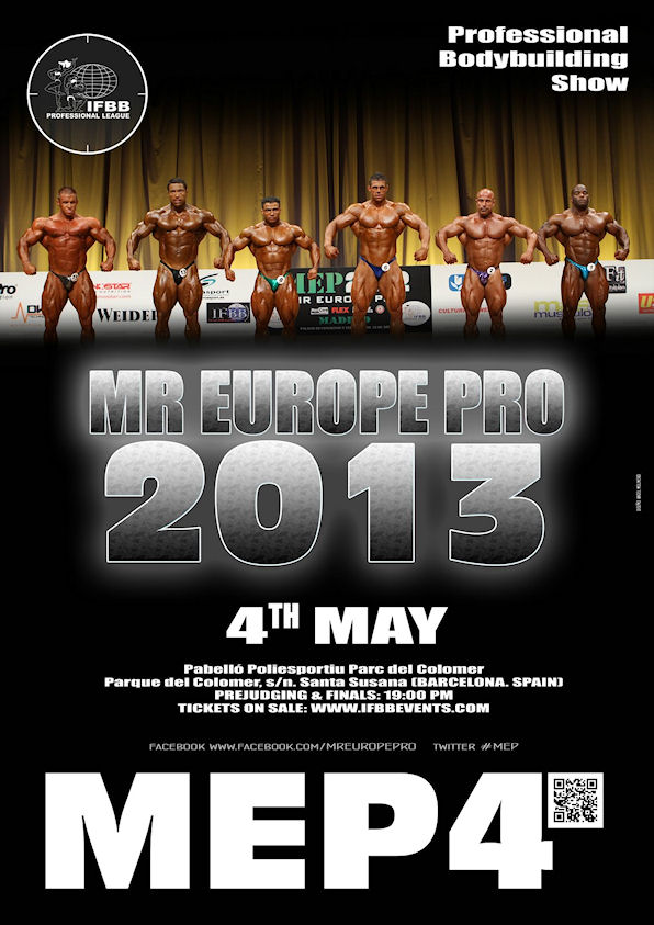 Stage #5  ***Top 6 Guess*** - 2013 Mr Europe, Barcelona-Spain!