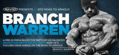 Branch Warren: Road to the Arnold
