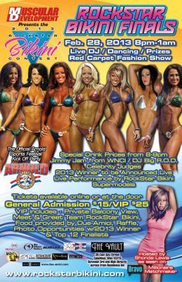 Rock Star Bikini Finals