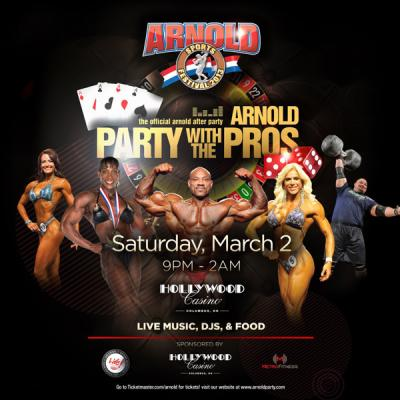 Official Arnold After Party: Party With the Pros