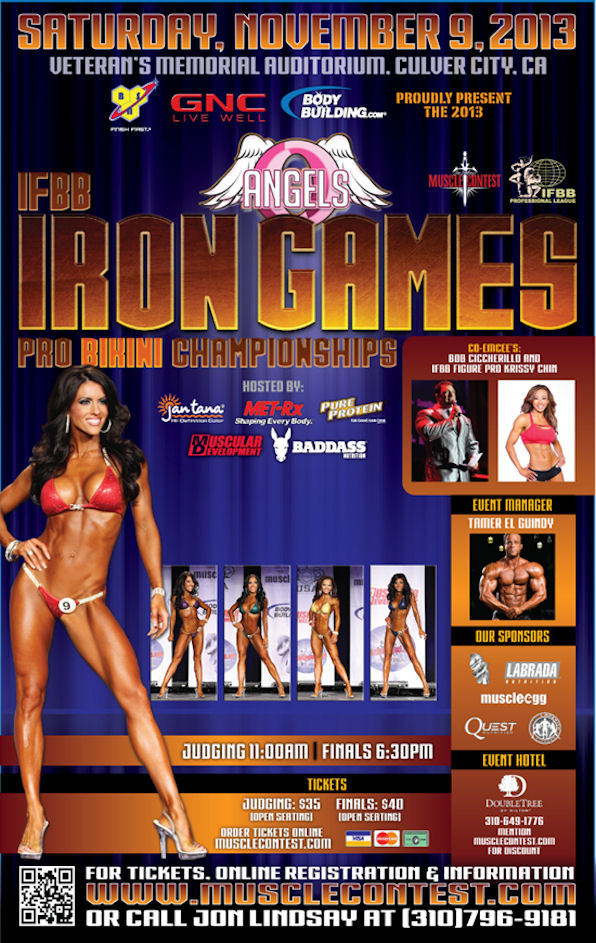 2013 Iron Games Pro Championships Information