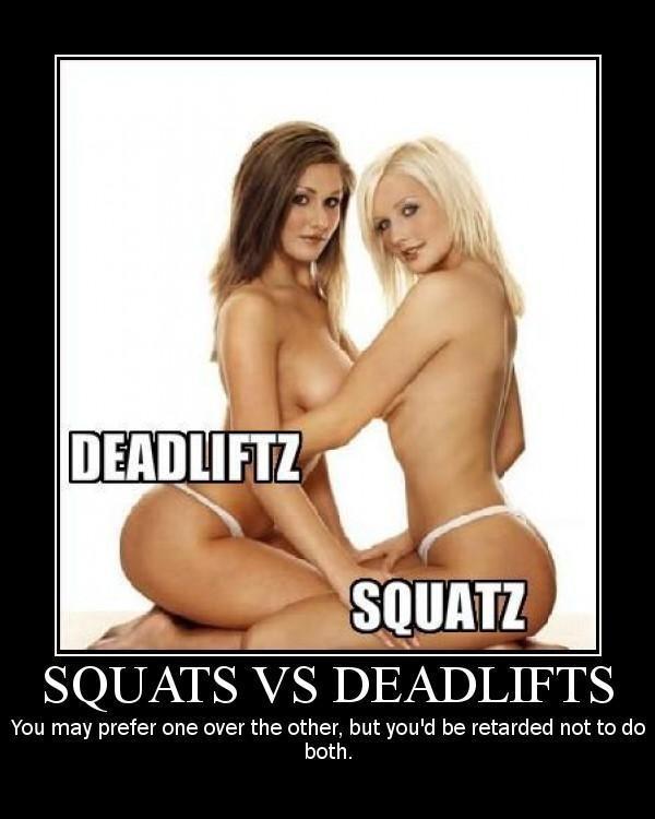 squats deadlifts 1