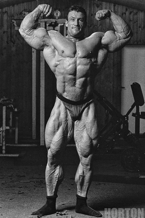 Dorian Yates - rare photo from 3 weeks out before the 1993 Mr O!