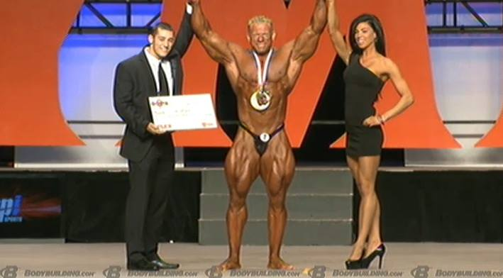 Phil Heath Wins the 2013 Mr Olympia + FULL Results!