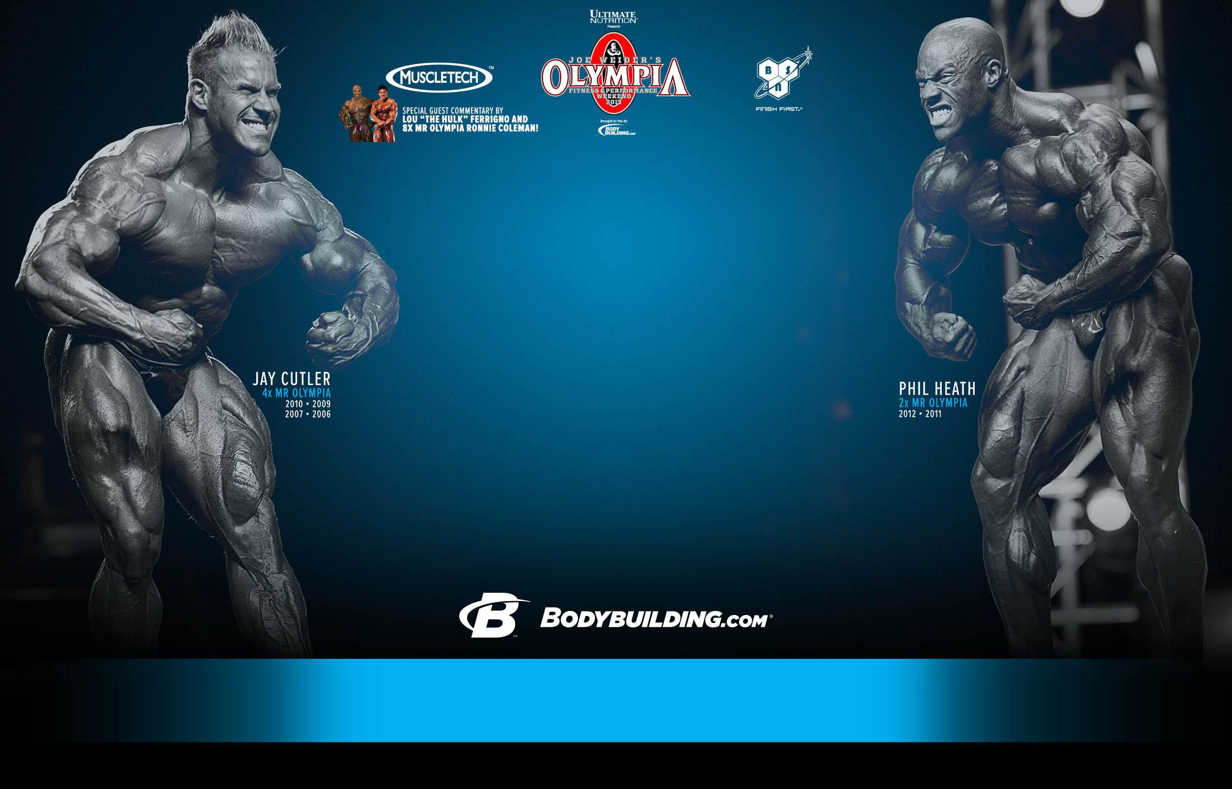 2013 Mr Olympia - LIVE Webcast!