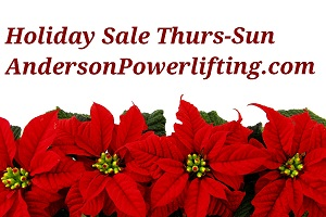 AndersonPowerlifting.com black Friday Sale!