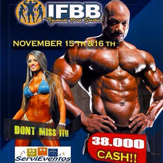 2013 IFBB Tijuana Pro!