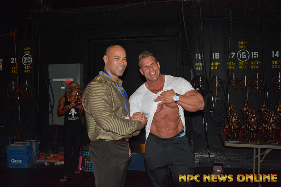 NPC News Online Photo of The Day: Jay Cutler and Kevin Levrone