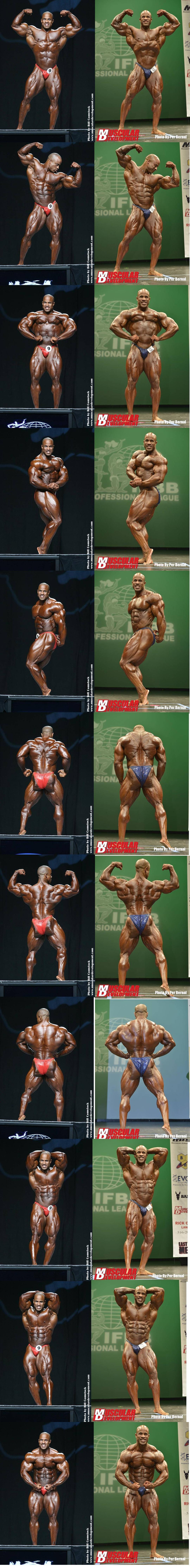 victor martinez 2007 mr o vs 2013 ny pro comparison