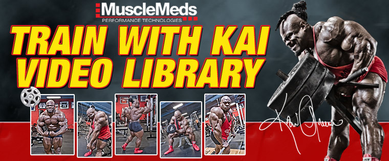 Train With Kai Video Library- Presented by MuscleMeds