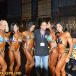 Around the NPC/IFBB: 2013 NPC National Championships: Saturday Prejudging Candid Photos