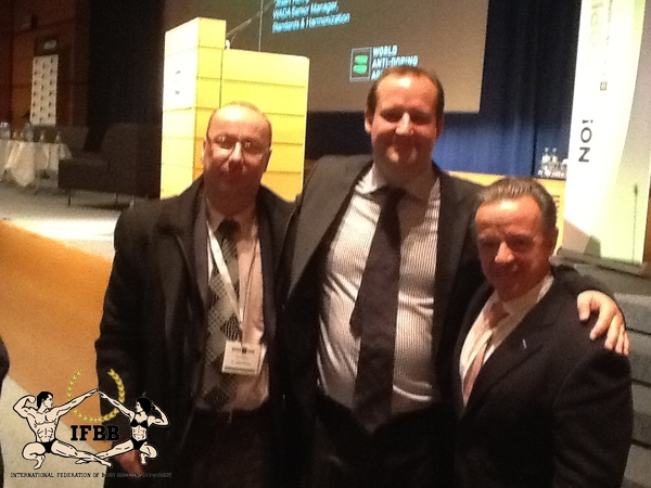 IFBB attending the World Conference on Doping as code signatory