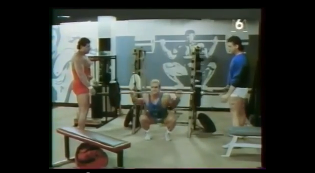 "Tom Platz - training footage from the movie ""Biceps Business"""