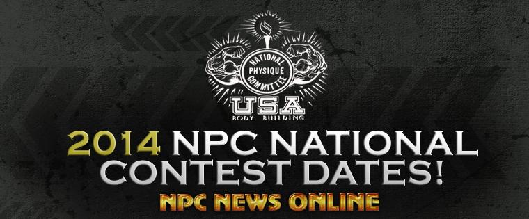 2014 NPC National Contest Dates