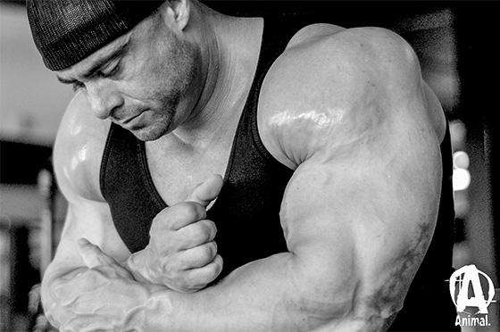 Frank McGrath - back training