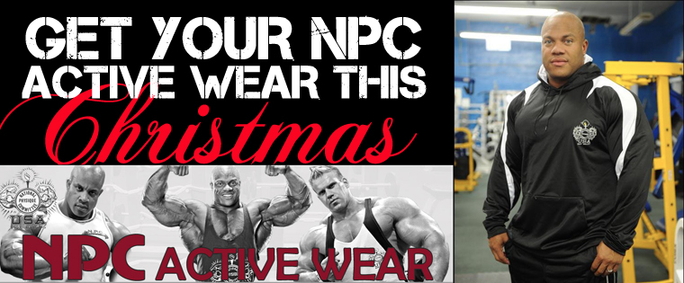 Get Your NPC Active Wear for Christmas