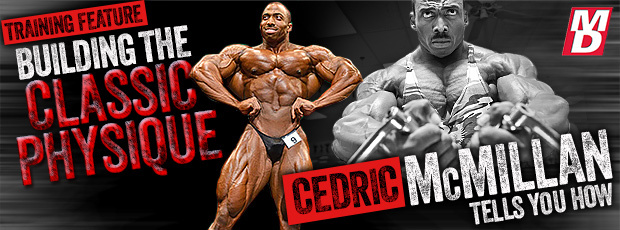 Building the classic physique with Cedric