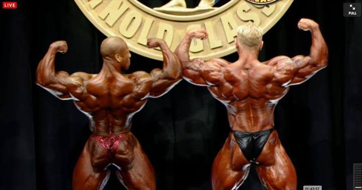 Shawn Rhoden vs Dennis Wolf - 2014 Arnold Classic (top 2) - Who wins?
