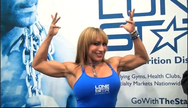 Interview with Karina Nascimento at the Arnold Classic Expo
