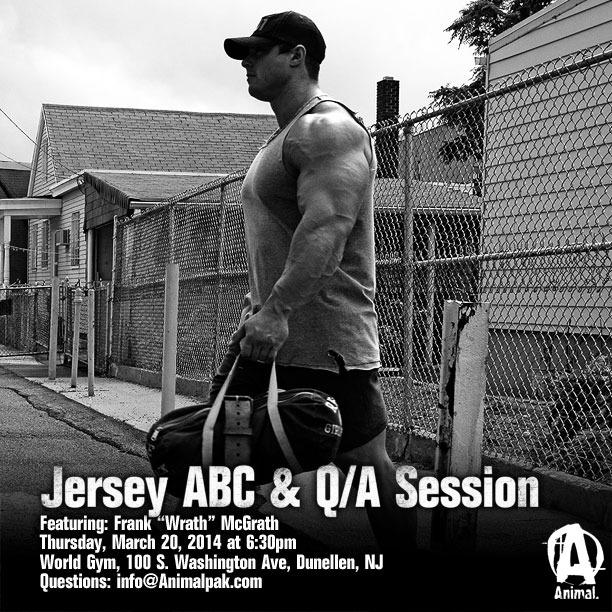 Come train with Frank McGrath & Evan Centopani Thursday March 20th NJ