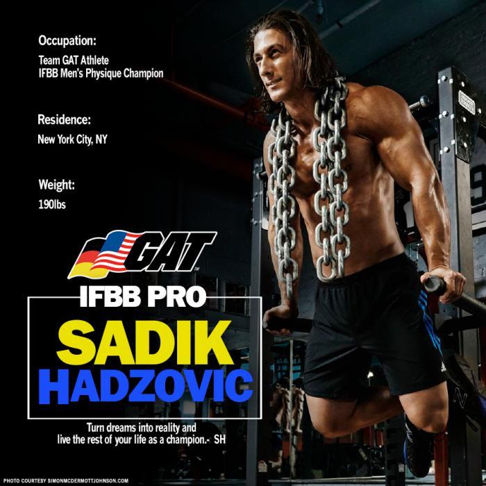 Npc newsflash: Gat signs ifbb physique pro sadik hadzovic