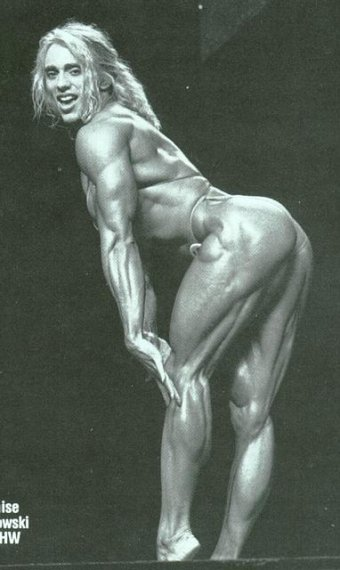 OMG ..Denise Rutkowski Mrs. Olympia Runner-Up 1993