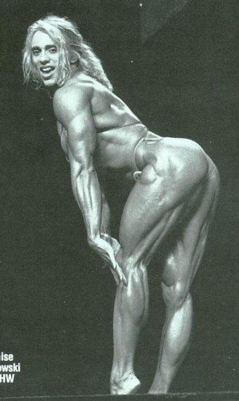 OMG ..Denise Rutkowski Mrs. Olympia Runner-Up 1993