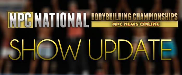 2014 NPC National Bodybuilding Championships: Show Update