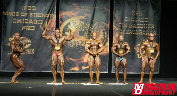 IFBB 2015 Wings of Strength Chicago Pro