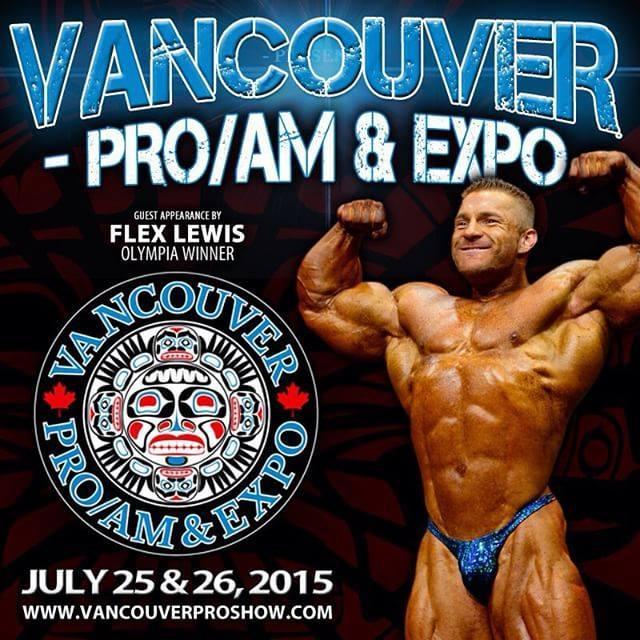 2015 vancuver pro ifbb 2015, 212 division: i risultati completi!