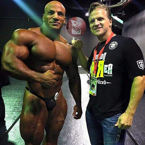 So now Big Ramy is working with Chris Aceto again..