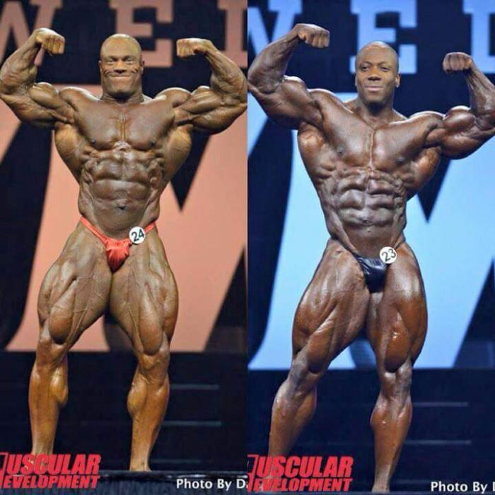 2015 Mr. Olympia: Phil Heath vs Shawn Rhoden