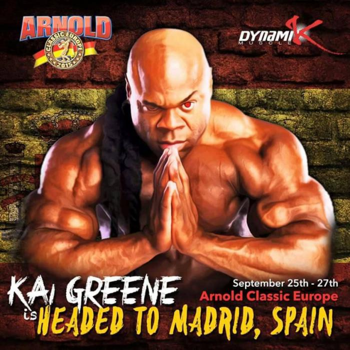 2015 arnold classic europe: kay greene pro ifbb si esibirà all'expo.